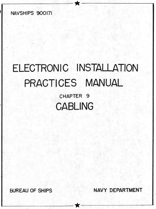 Electronic Installation Practices Manual