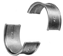 Figure 3-4. Connecting rod bearing shells.