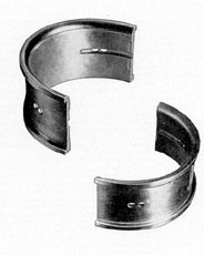 Figure 3-24. Connecting rod bearing shells, GM.