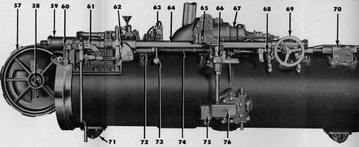 Plate 1 The Torpedo Tube And Its Operating Mechanisms
