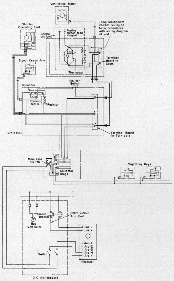 24 inch searchlight schematic wiring diagram of ship s installation circuit