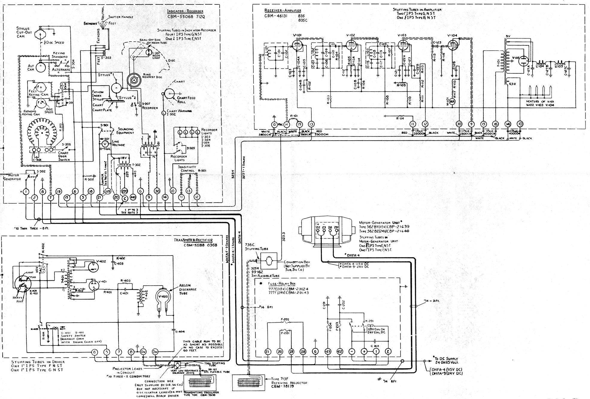naval sonar figure 15 6 schematic wiring diagram of the nj 9 rh maritime org