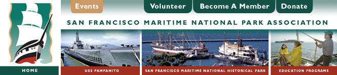 MPA Logo, San Francisco Maritime National Park Association, USS Pampanito, Historic Ships at Hyde Street Pier, Education Programs