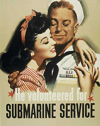 poster he volunteered for submarines