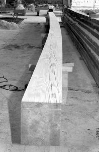 Timber bent by being sawn vs bent