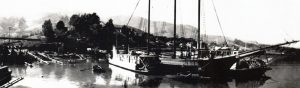 Crichton and Arques Boatyard 1914