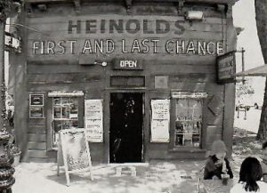 Heinolds Saloon where Jack London drank