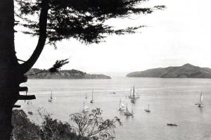 View of Belvedere from Sausalito, 1910